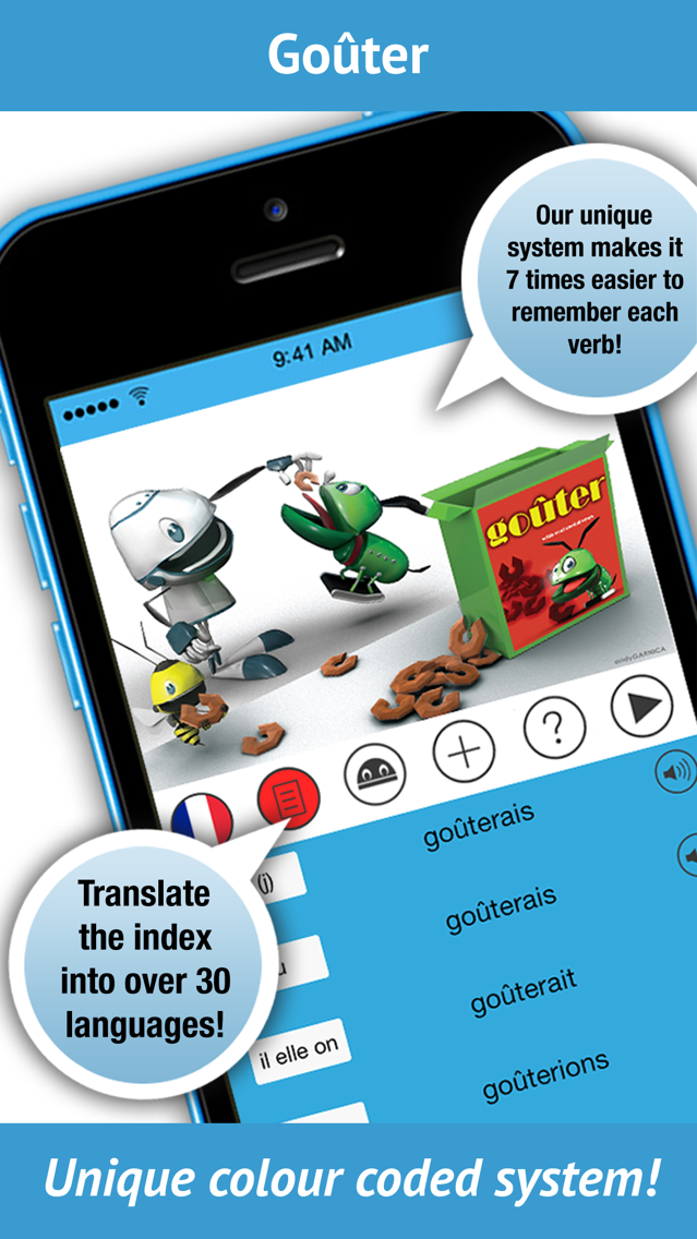 Learn French Verbs by iEdutainments | fnd