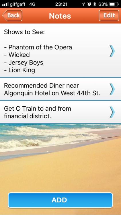 Trip Planner screenshot-4