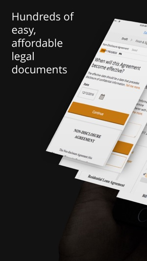 Rocket Lawyer: Legal Documents on the App Store