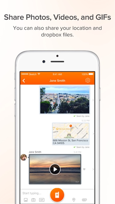 Voxer Walkie Talkie Messenger review screenshots