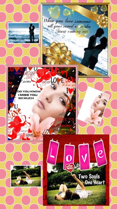 Photo Frames : Love Edition screenshot one