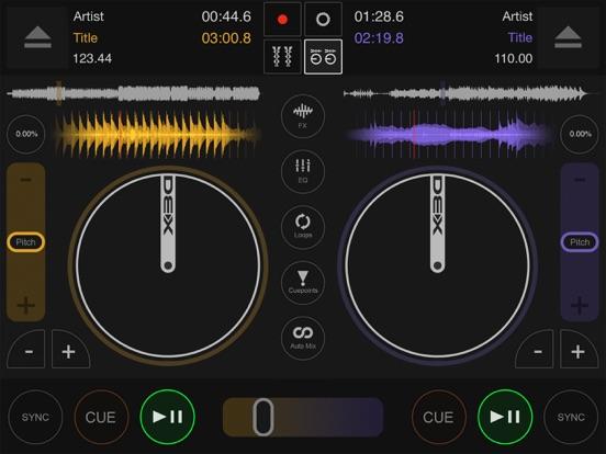 DJ DEX - The DJ Mixing App screenshot one