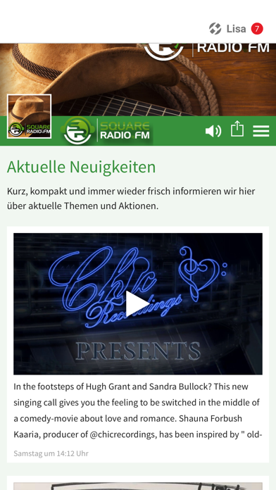 SquareRadio.FM screenshot 1