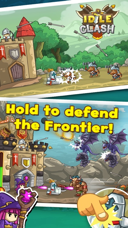 Idle Clash - Frontier Defender