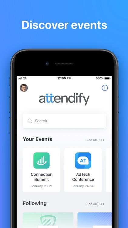 Attendify screenshot-0