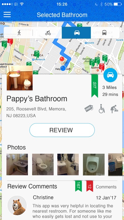 SitOrSquat: Restroom Finder screenshot-2