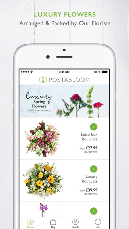 Postabloom Flower Delivery App