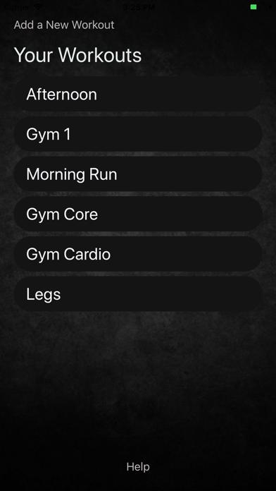 My Workout Manager screenshot #1