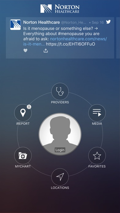 Norton Healthcare iPhone