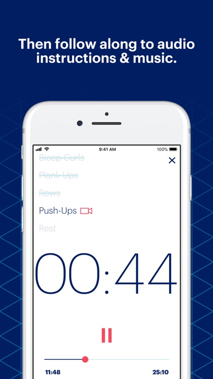 ASICS Studio: Audio Workouts screenshot-4