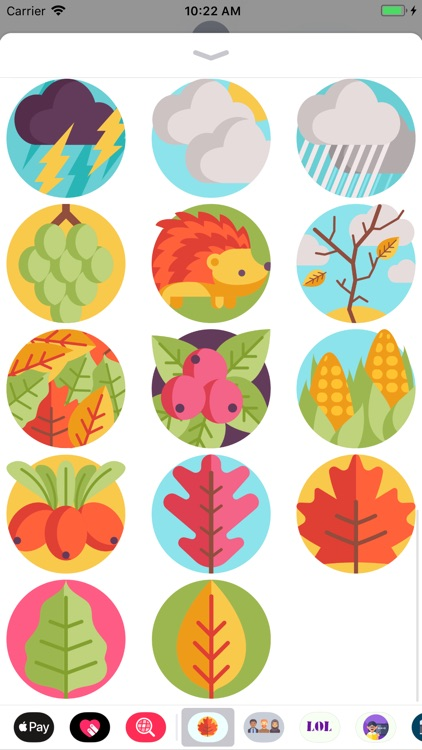Autumn Fall Stickers screenshot-4