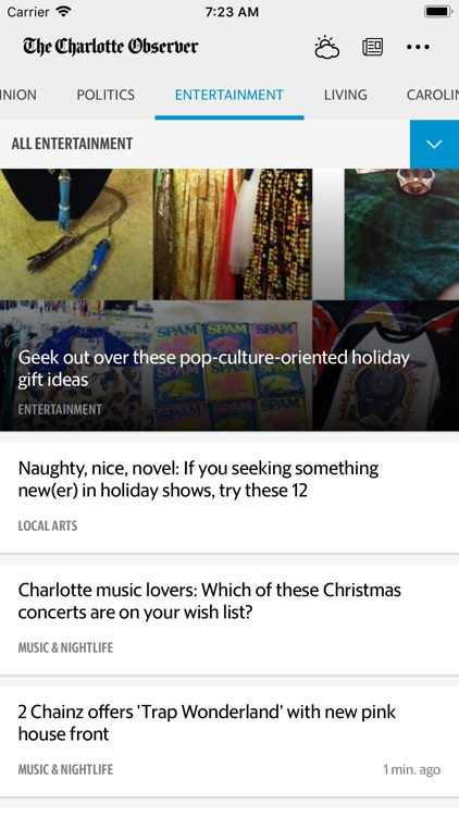 The Charlotte Observer News screenshot-4