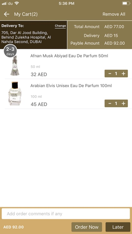 Vinlexe Perfumes screenshot-5