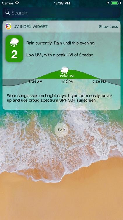 UV Index Widget - Worldwide screenshot-4