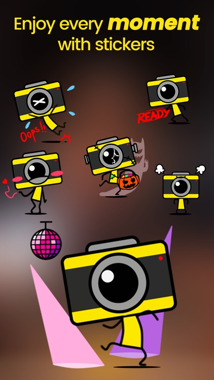 Stixy - Animated face stickers screenshot-3