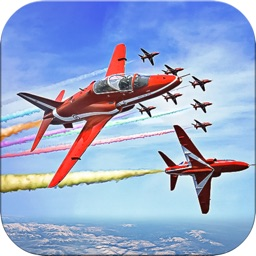 Aircrafts Stunt Sky