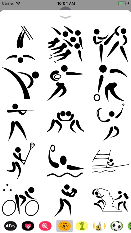 Sport Pictogram Sticker Pack screenshot-4