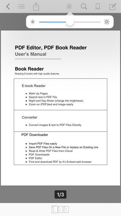 PDF Editor ,PDF Book Reader screenshot-2
