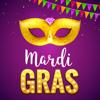 Mardi Gras Carnival Stickers