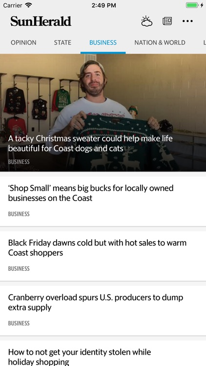 Biloxi Sun Herald News screenshot-3