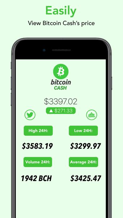 Bitcoin Cash - BCH screenshot one