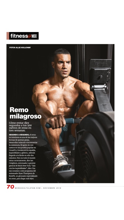 Men's Health en Español screenshot-3