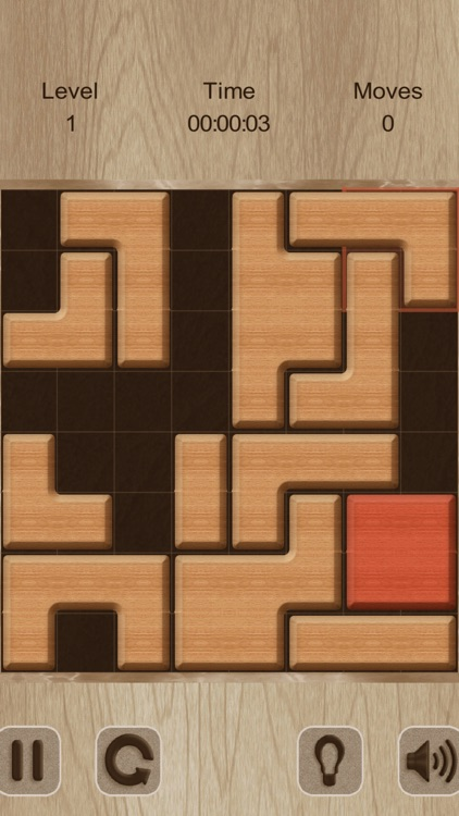 Move The Red Block (ad-free) screenshot-6