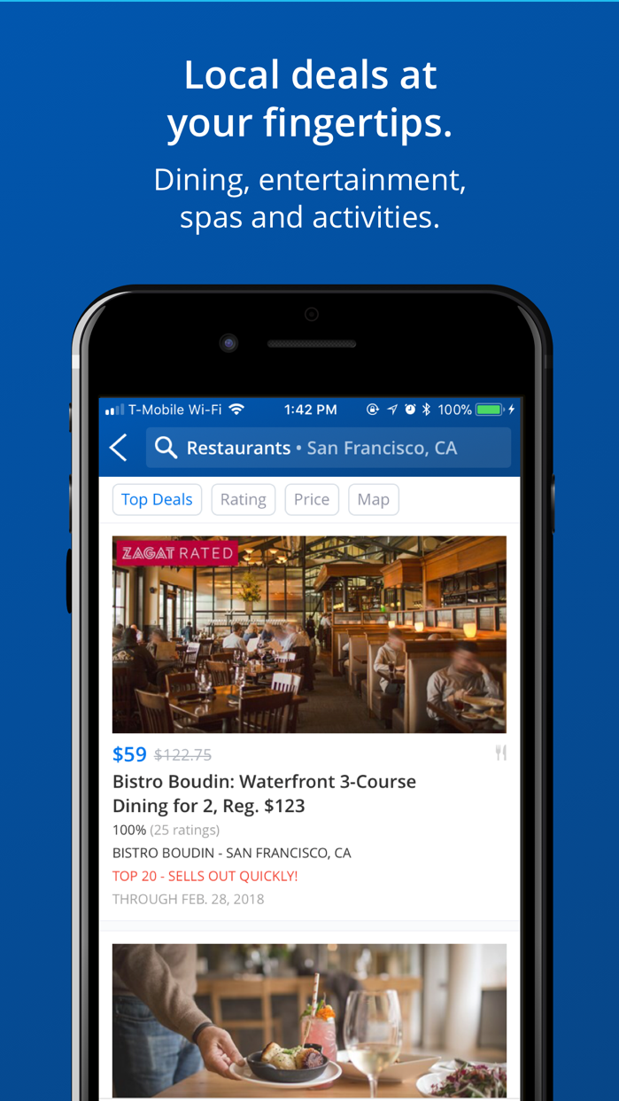 Travelzoo Hotel & Travel Deals Screenshot