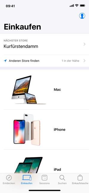 Apple Store Screenshot