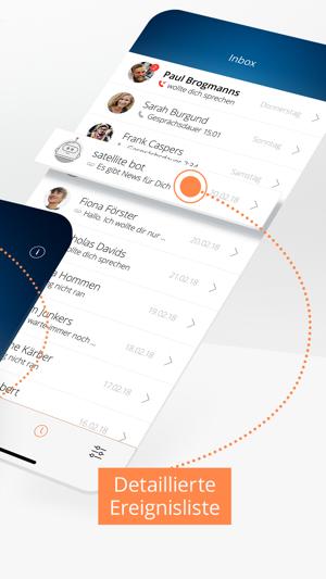 satellite – Handy in der App Screenshot