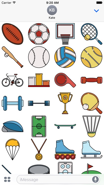 The Sports Sticker Pack