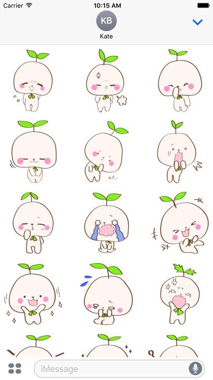 Cute Rabbit Tree Sticker