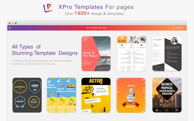 Xpro templates for pages on the mac app store xpro templates for pages on the mac app store maxwellsz