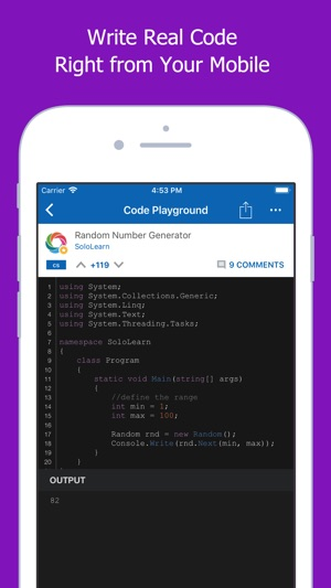 Image result for code section sololearn