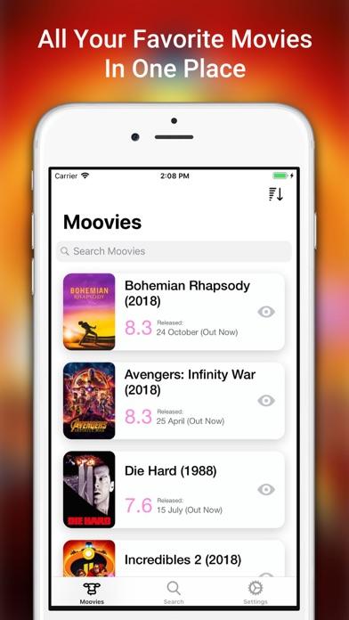 Moovies: Simple Movie List App | App Price Drops
