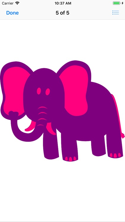 Pink Elephant Sticker Pack screenshot-5