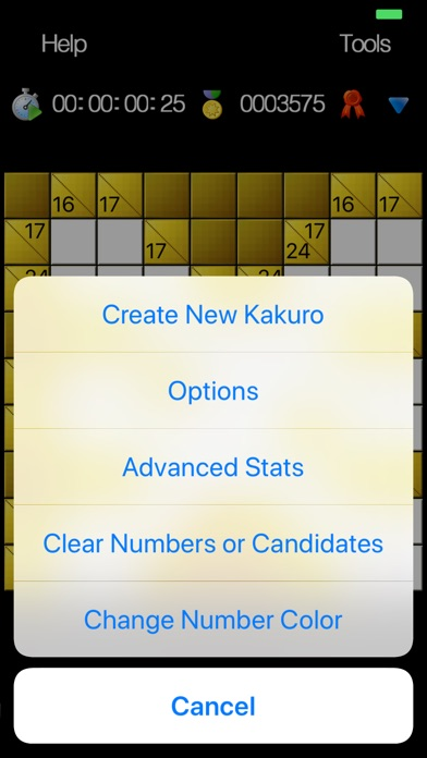 Kakuro - No Ads Edition screenshot 10