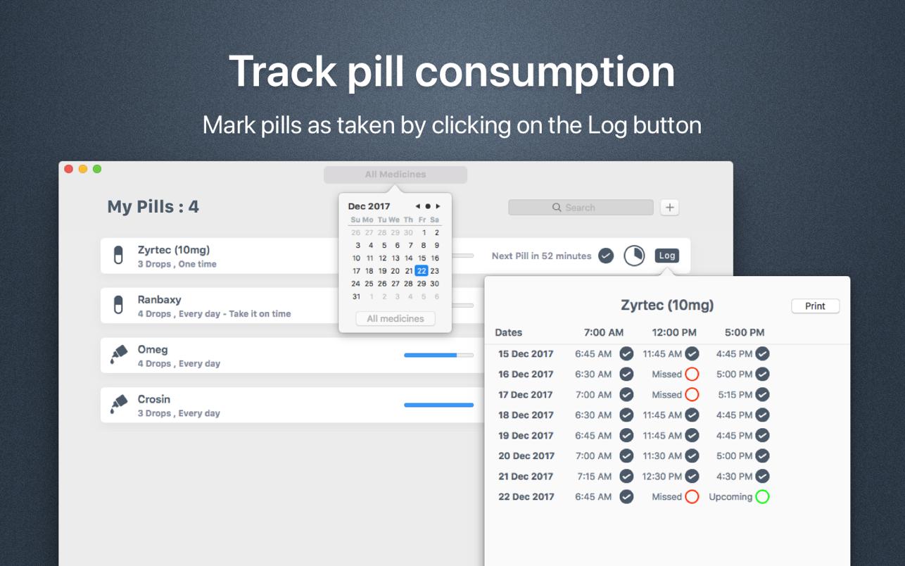 My Pills - Tracker