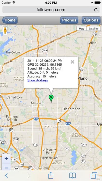 GPS Location Tracker by FollowMee