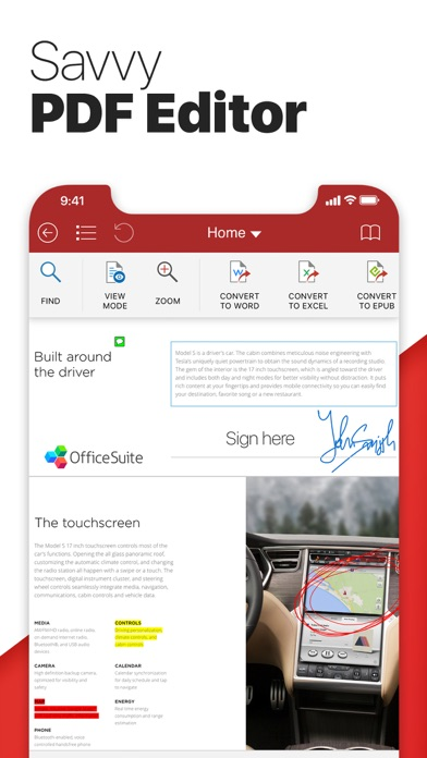 Screenshot #10 for OfficeSuite PRO Mobile Office