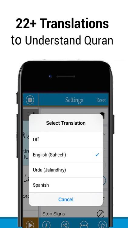 Quran Reading® – Quran MP3 screenshot-3