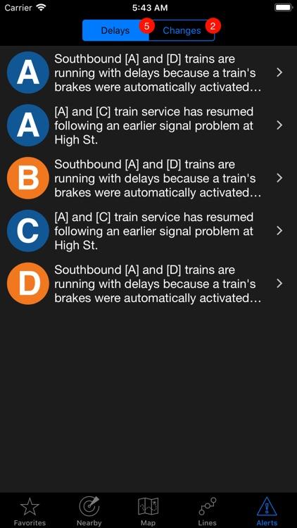 NextStop - NYC Subway screenshot-3