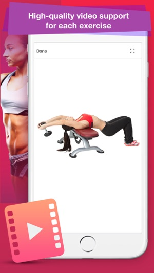 Female Fitness: Best Exercises Screenshot