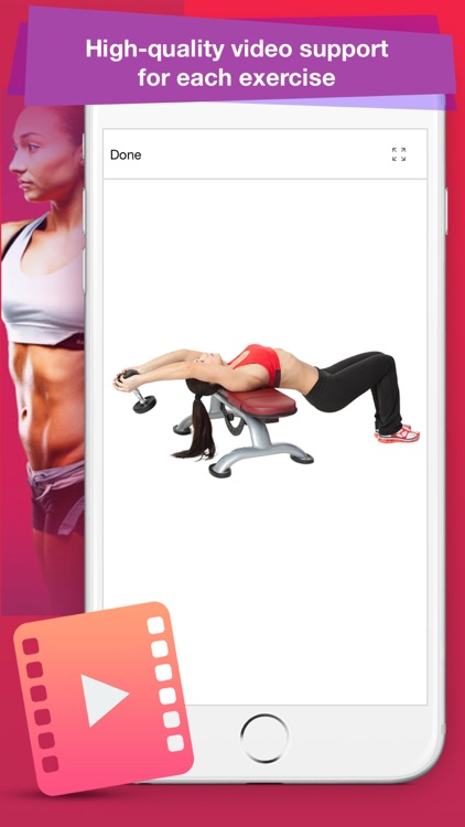 Female Fitness: Best Exercises screenshot-4