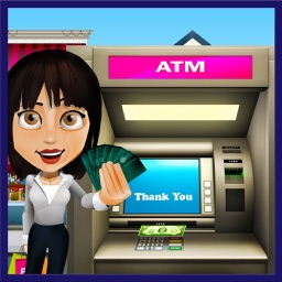 Bank ATM Cash Shopping Sim