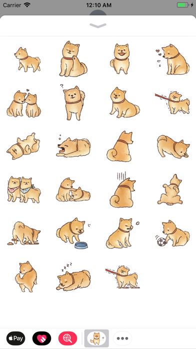 Animated Puppy Stickers! screenshot one