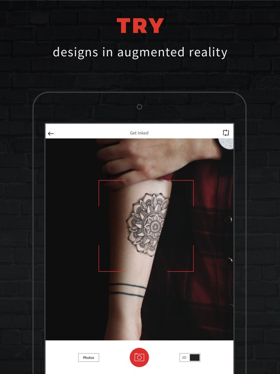 INKHUNTER PRO Tattoos try on screenshot 6