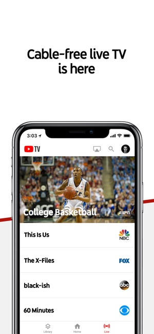 Youtube tv on the app store screenshots ccuart Images