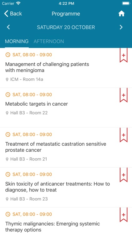 ESMO Events App screenshot-4