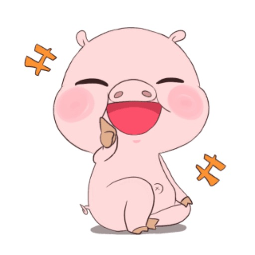 Piggy Pinky Stickers Pack